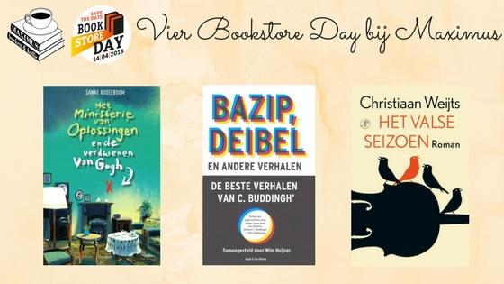 Bookstore Day: Ontmoet onze gasten!