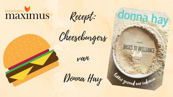 Heerlijke cheeseburgers van Donna Hay