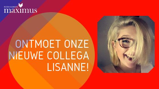 Ontmoet onze nieuwe collega Lisanne!