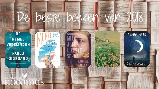 De beste boeken die we in 2018 hebben gelezen