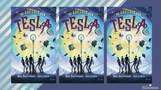 Laura recenseert YA: 'De erfenis van Tesla' van Neal Shusterman en Eric Elfman