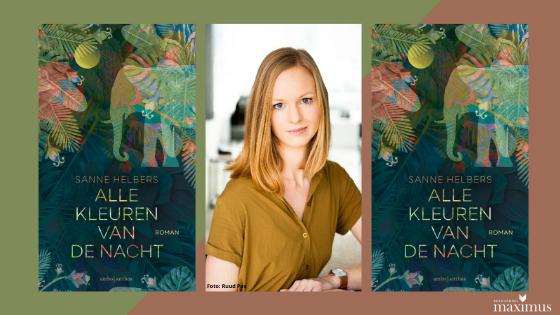 Buurtgenoot Sanne Helbers debuteert met 'Alle kleuren van de nacht'