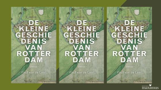 Lezing en boekpresentatie De kleine geschiedenis van Rotterdam – 2 november '21